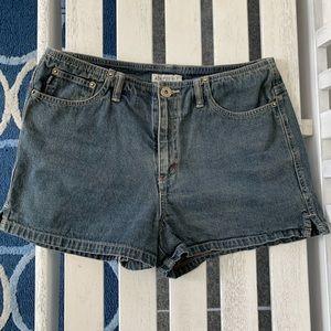 Aeropostale Hi Rise denim shorts 8